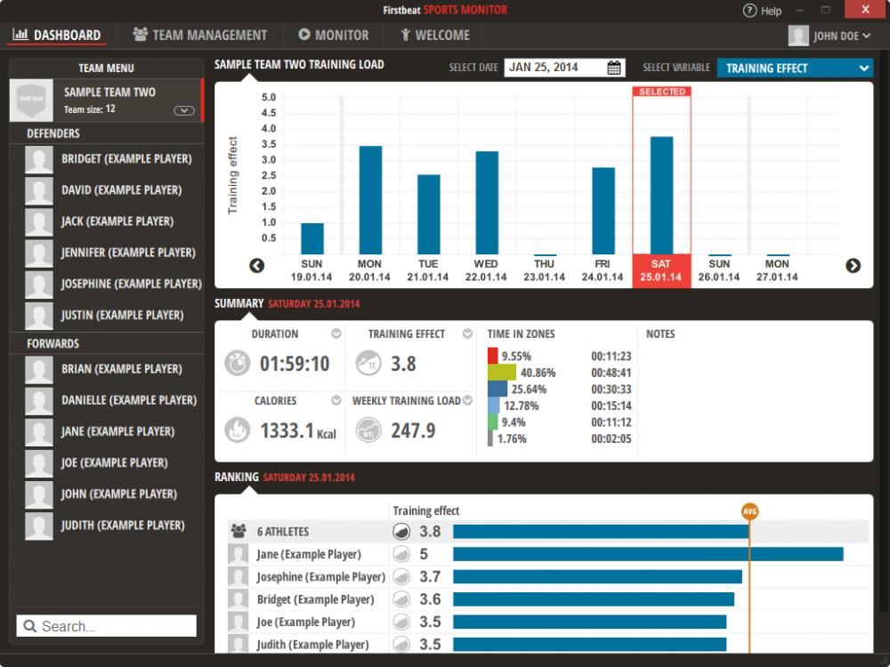 SPORTS Monitor - Dashboard.fw