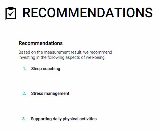recommendations EN